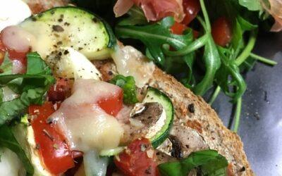 Pizzabrood – gezonde pizza