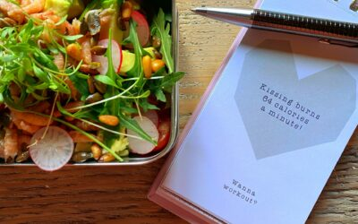 Garnaal-salade met crumble